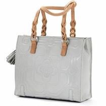Brighton Mica Slim Tote Moonrock  Photo