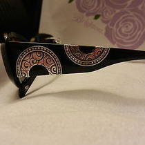 Brighton Moon River Sunglasses With Swarvoski Crystal Accents Nwt  Photo