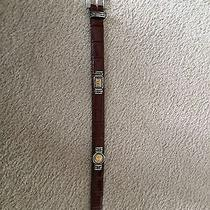 Brighton Museum Collection Belt Size Medium Brown  Photo