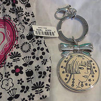 Brighton Nanette Keyfob Purse Charm Also Can Use as Necklace Pendant Too Photo