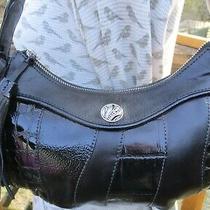 Brighton New Black Leather Small Tassel Hobo Shoulder Bag Purse Photo