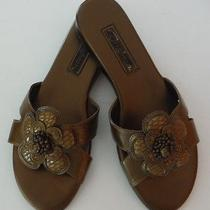 Brighton New Clover Sandals Size 7 M    List Price 152 Nwt Photo