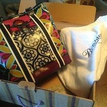 Brighton New in Box With Tags Oilcloth Handbag Photo