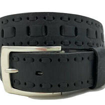 Brighton New Kona Black Leather Belt  Size 34  Nwt   M20683 Photo