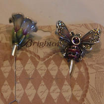 Brighton New Marvels Bumble Bee Silver Plated Key Fob Nwt Photo