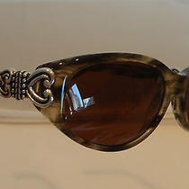 Brighton New Sabrina Sunglasses 100% Uva  Uvb  Silver Plated  Sg434 Photo