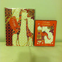 Brighton Notebook & Notecard Set  Safari Sunset Nwt Photo
