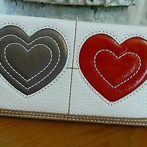 Brighton Nwt Art Heart Leather Wallet Photo