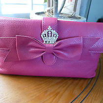 Brighton Nwt My Flat in London Clutch/ Purse Pink Leather Photo