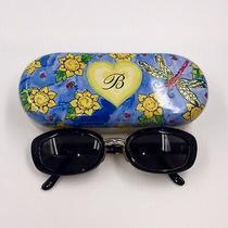 Brighton Othello Sunglasses Sg333-135  Metal Case Handmade Preowned Free Ship Photo