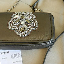 Brighton Pewter Anju Cell Phone Small Wallet Evening Bag Photo