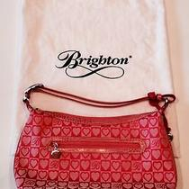Brighton Pink Hearts Purse With Dust Bag Photo