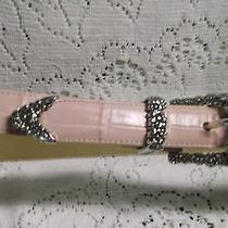 Brighton Pink Leather Belt Photo