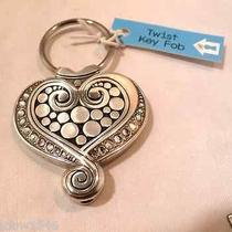 Brighton Pop Heart Key Chain Ring Fob E14580 Nwt Photo