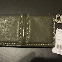 Brighton Pretty Tough Lg Wallet Olive. New T33371 Photo