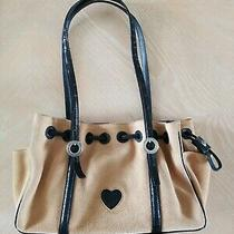 Brighton Purse/handbag D156267 Tan Suede Photo