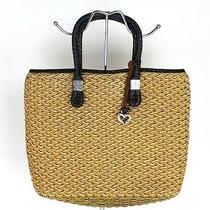 Brighton Raffia Tote Purse Hand Bag Photo