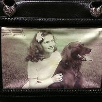 Brighton Rare Leather Tapestry Tote Photo