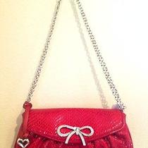 Brighton Red Clutch Purse  Photo
