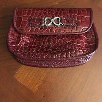 Brighton Red Croc Leather  Pocket  Wristlet / Wallet Photo