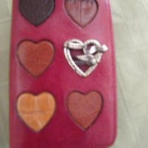 Brighton Red Hearts Card Case Photo
