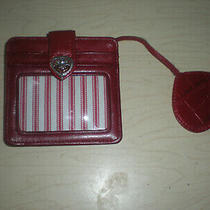 Brighton Red Id Coin Purse Wallet Photo