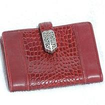 Brighton   Red  Wallet  Medium Photo