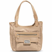 Brighton Sand Colored Dakota Ziptop Pocket Tote  New in Box Photo