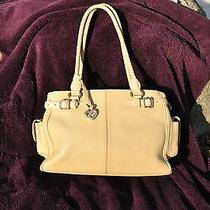 Brighton Satchel Beige Handbag   Photo