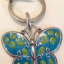 Brighton Scooter Butterfly Key Fob / Keychain Nwt Mother's Day Gift Photo