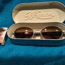 Brighton Sentimental Journey Sunglasses Round Braid Braided W/case Photo
