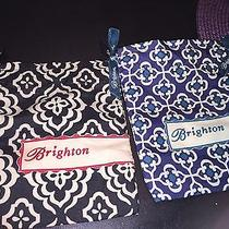 Brighton Set of 2 Drawstring Cloth Mini Jewelry Bags Photo