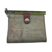 Brighton Shopping Spree Medium Wallet in Tan-Multi Leather Photo
