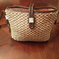Brighton Shoulder Bag / Handbag / Purse Woven Straw Photo