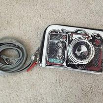 Brighton Silver Camera Small Crossbody Bag  Photo