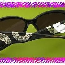 Brighton Silver Moon River Tortoise Sunglasses Nwtag Photo