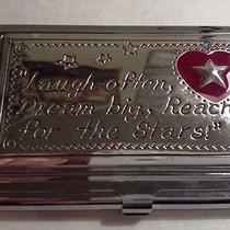 Brighton Silver Plated Business Card Holder  Photo