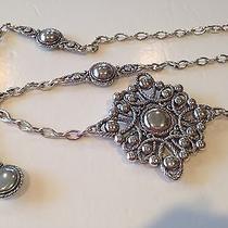 Brighton Silver Plated Chain Belt   Sz L Photo