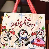 Brighton Snowman Tote Photo