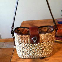 Brighton Straw Woven Tote Photo