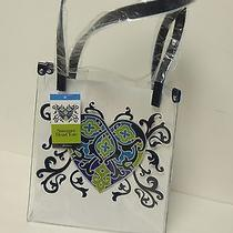 Brighton Summer Heart Tote Clear With Heart Design   Nwt Photo