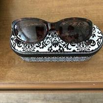 Brighton Sun Glasses - a Beautiful Pair -  Tortus Shell Oval Shaped Frame Photo