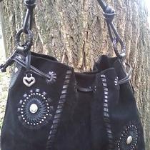 Brighton  Sunburst  Western Stitched Fancy High-End Shoulder Bag. Rare Photo