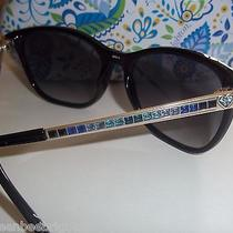 Brighton Sunglasses Big Blackspectrumblue Crystalnewdesigner Style Photo