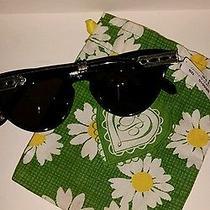 Brighton Sunglasses  Black  Crimson and Clover  Nwt  Cute  Photo