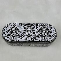 Brighton Sunglasses Case Metal Black/white Photo
