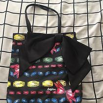 Brighton Take a Bow Tote Colorful With Black Satin Bow Photo