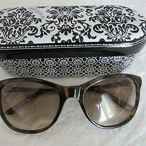Brighton Tortoise Meridian Sunglasses in Tin. Photo