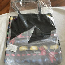 Brighton Tote Nwt Black Colorful Bows and Diamonds Large Purse Travel Carry Photo