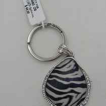 Brighton Trinity Zebra Key Fob Swarovski Crystals E14680 Nwt Photo